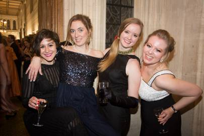 Christina Crone, Sophie Karl, Malin Bogue and Delyth Jewell