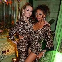 Lady Kitty Spencer and Viscountess Weymouth
