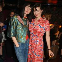 Erin O'Connor and Jasmine Guinness