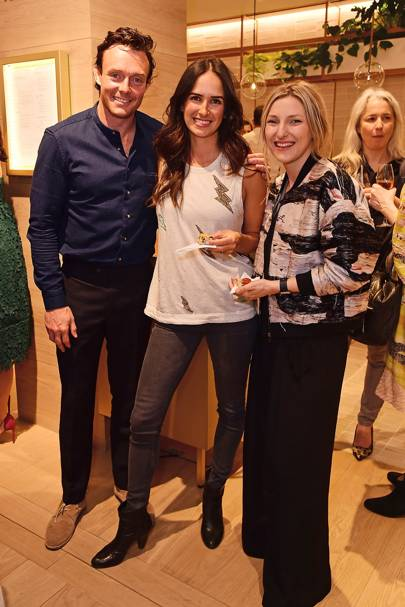 James Duigan, Chrissie Duigan and Amy Hopkinson