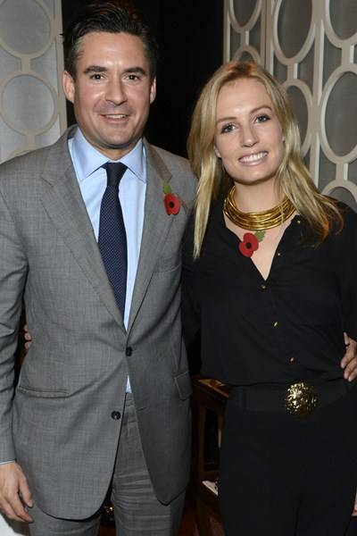 Ed Taylor and Sofia Wellesley
