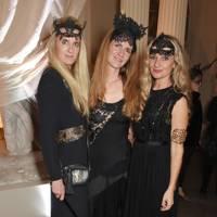 Jubie Wigan, Chloe Delevingne and Jemma Savoretti