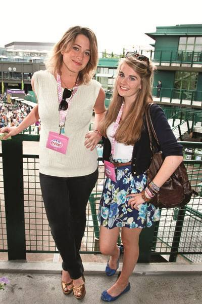 Vanessa Garwood and Jessica Howard-Johnston