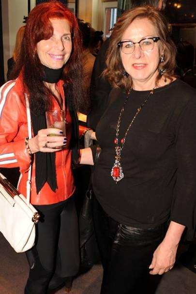 Nathalie Hambro and Vicki Sarge