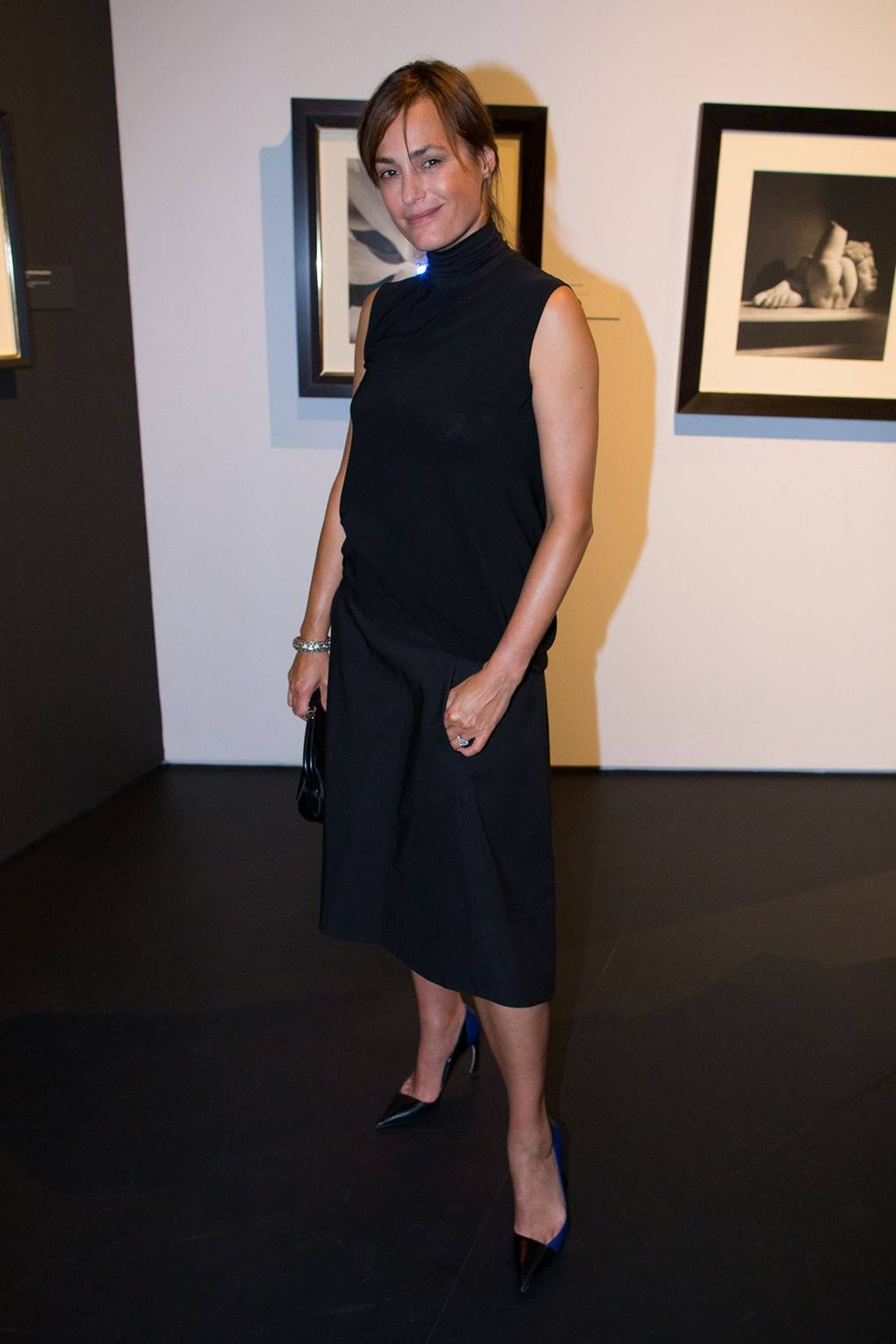 Amber Le Bon Nude horst: photographer of style private view - v&a, yasmin le