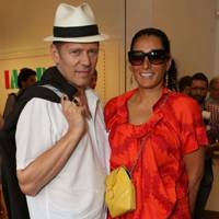 Paul Simonon and Serena Rees