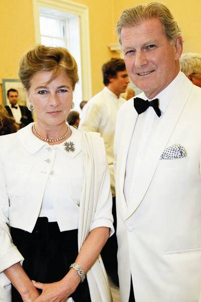 The Marchioness of Douro and David Norman