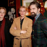 Sam Bower, Jamie Campbell Bower and Jack Guinness