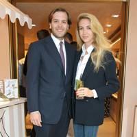 Joseph Getty and Sabine Ghanem