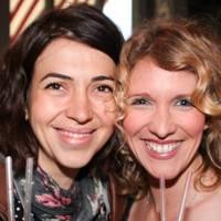 Linda de Canha and Caroline Kirkpatrick