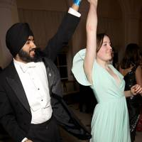 Ramandeep Singh and Lizzie Tobin