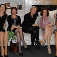 Phyllida Wilson, Marie-Louise Wade,  Maxine Pillinger, Be Coulter and Kay Devine