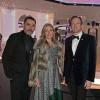 Roland Mouret, Stephanie Phair and Rupert Adams