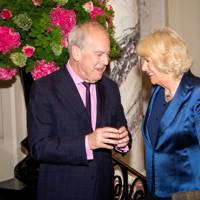 Gyles Brandreth and The Duchess of Cornwal
