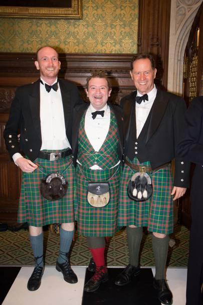 Alastair King-Smith, Jack Smith and Neville McBain