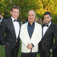 Nick Candy, Sir Len Blavatnik and Michael Russo