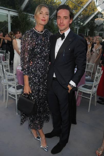 Maria Sharapova and Alexander Gilkes