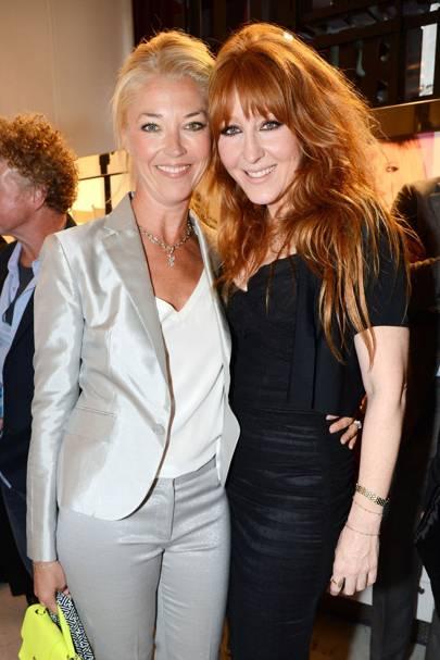 Tamara Beckwith and Charlotte Tilbury