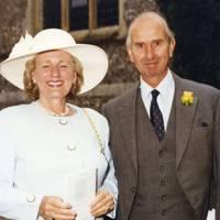 Mrs Michael Carson and Michael Carson