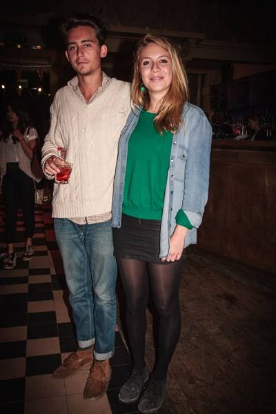 Finbar Ward and Rosie Reed