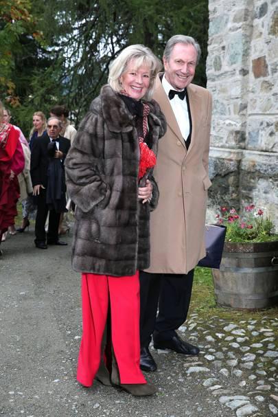 Charlotte von Bismarck and Reinhard von der Becke