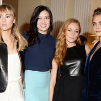 Suki Waterhouse, Daisy Lowe, Clara Paget and Cara Delevingne