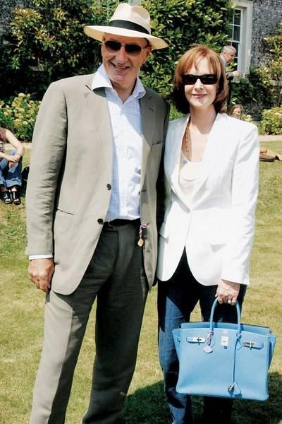 Sir Peter Osborne and Lady Osborne