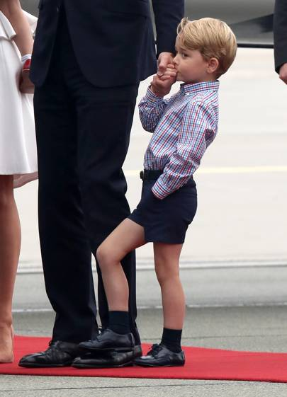 When the only person allowed to stand on the foot of a future king is another future king and you are one of those future kings