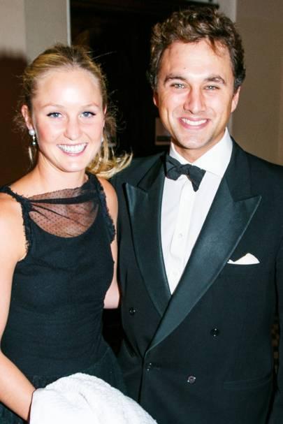 Lady Melissa van Straubenzee and Thomas van Straubenzee