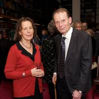 Claire Tomalin and Andrew Marr