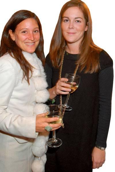 Charlotte Wilson and Katie Crichton-Stuart