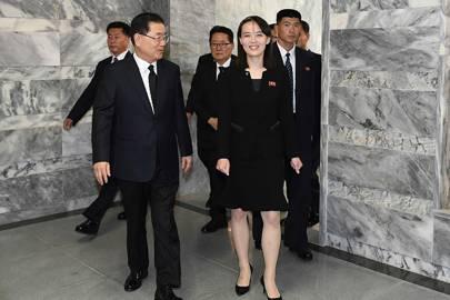Who is Kim Jong-un's sister and potential heir apparent, Kim Yo ...