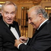 Lord Archer and Sir Philip Green