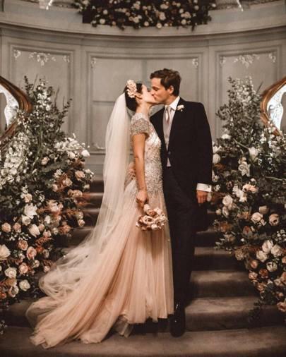 Wedding Magazine Subscription Gift: Society Weddings 2017: Elisabeth Murdoch & Greta