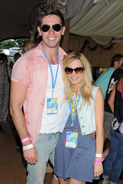 James Cannon and Joanne Froggatt