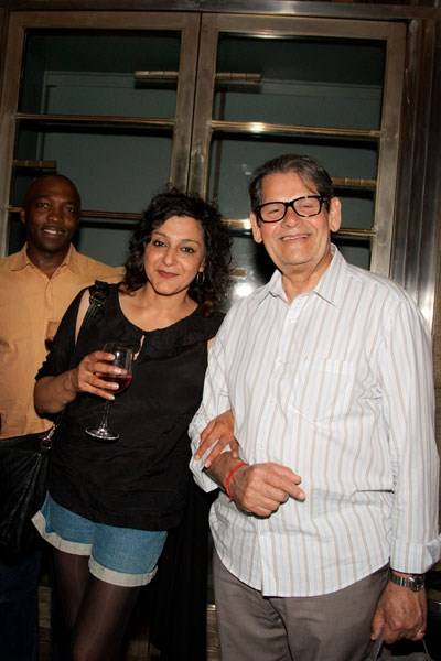 Meera Syal and Ernest Ignatius