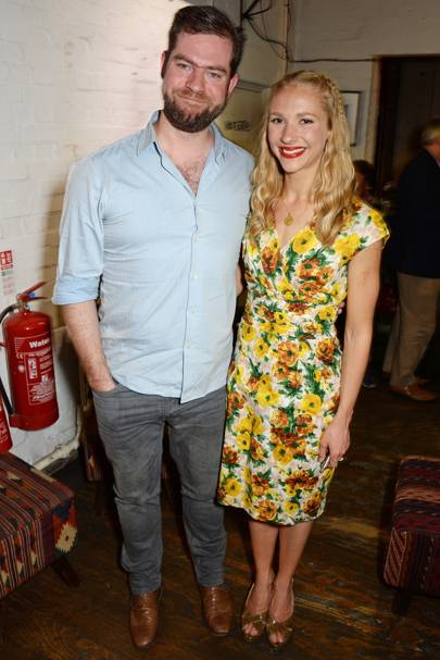 Simon Evans and Maddy Hill
