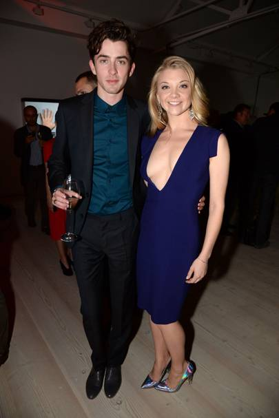 Matthew Beard and Natalie Dormer