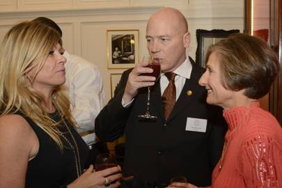 Roseanne Bell, Nigel Beaumont and Kendra Kauffman