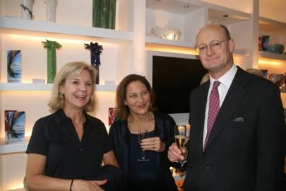 Vicky Broackes, Lisa Simpson and Roger Lambert