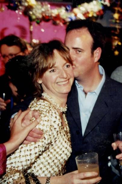 The Hon Mrs Brett and James Faber