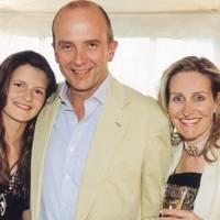 Louisa Wentworth-Stanley, Nicholas Wentworth-Stanley and Mrs Nicholas Wentworth-Stanley