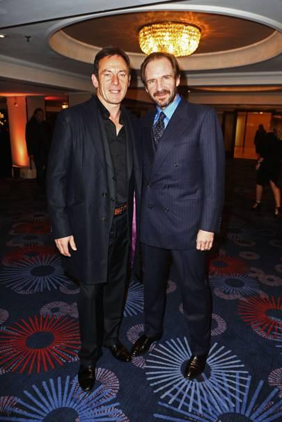 Jason Isaacs and Ralph Fiennes