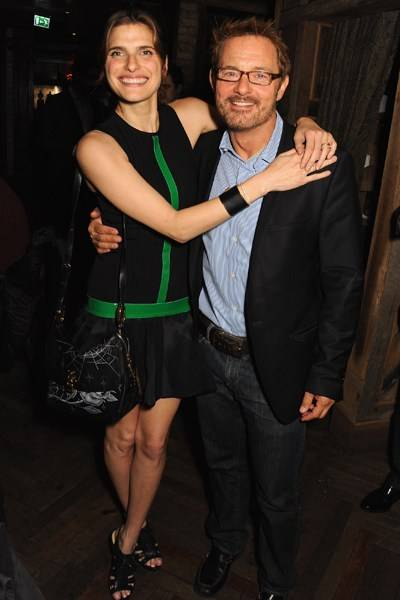 Lake Bell and David Louvier