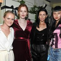 Emily Ward, Karen Elson, Liberty Ross and Aja Chow