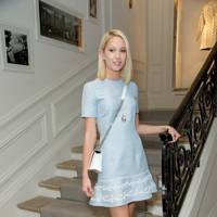 Princess Maria-Olympia of Greece at the Dior show, A/W16