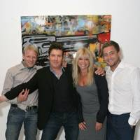 Jamie Wood, Greg Miller, Jo Wood and Tyrone Wood