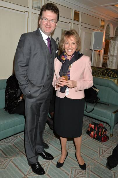 Ewan Venters and Esther Rantzen