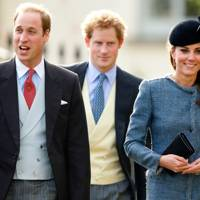 The Duke of Cambridge, Prince Harry and the Duchess of Cambridge