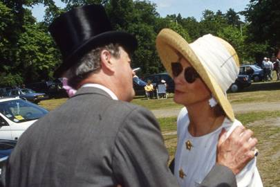 The Duke of Marlborough and Mrs Rupert Hambro